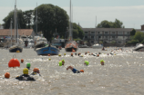 Topsham to Turf Locks, Ferrymans Charity Swim