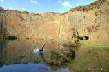 Blue Pool, Golwern Quarry