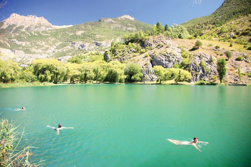 Central alps wild swimming outdoors in rivers lakes and the sea sciox Image collections