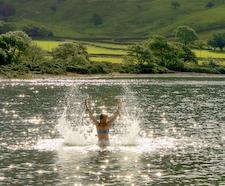 Person Splashing