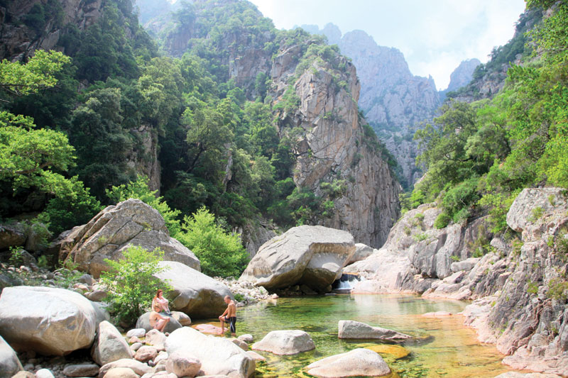 Corsica Wild Swimming Outdoors In Rivers Lakes And The Sea