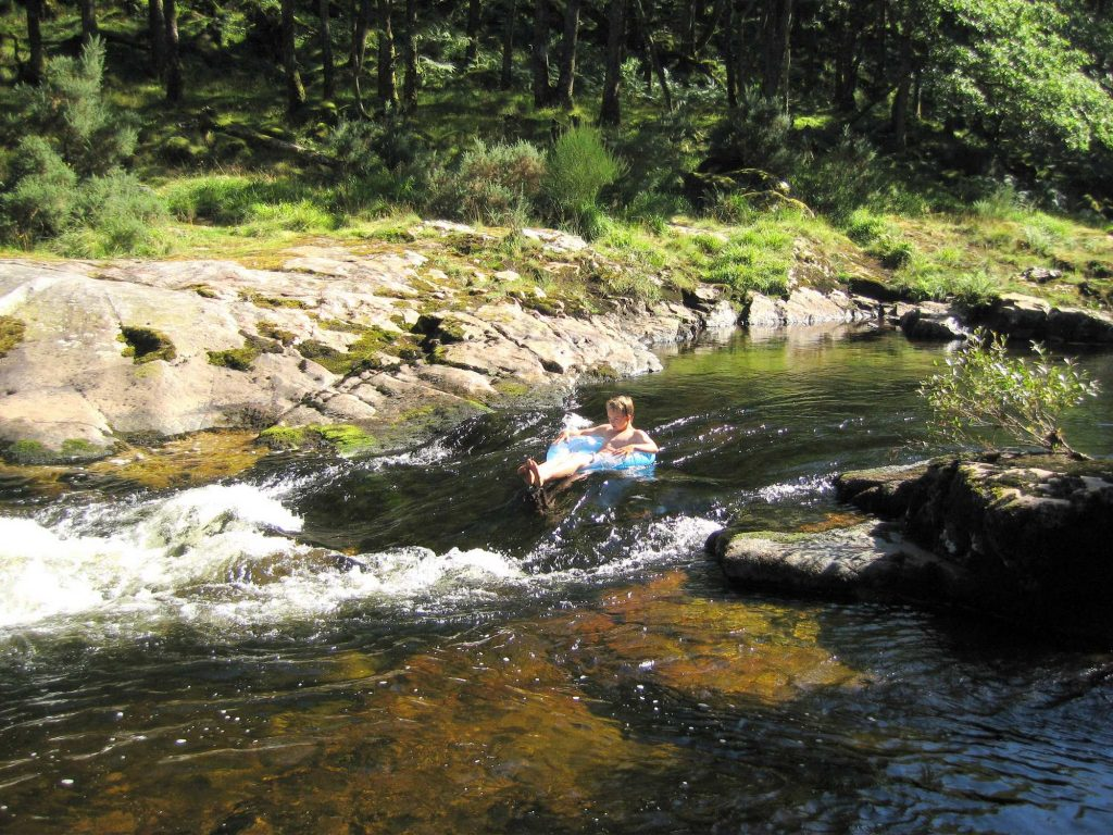 wild swimming river tubing