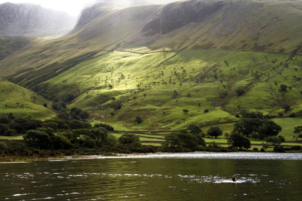 Wastwater wild swimming