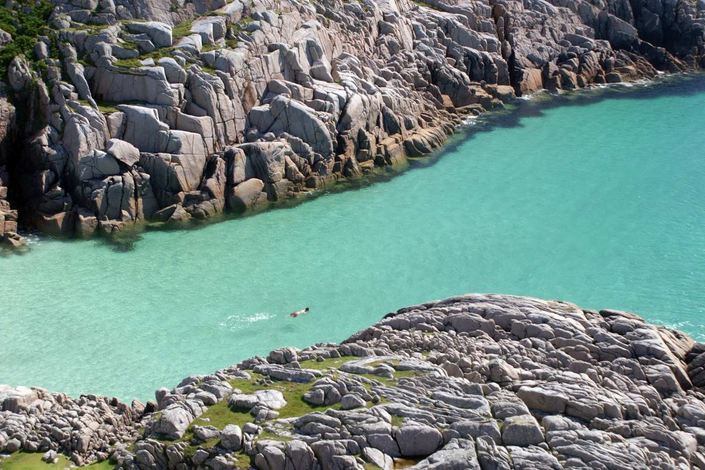 wild swimming mull scotland beaches