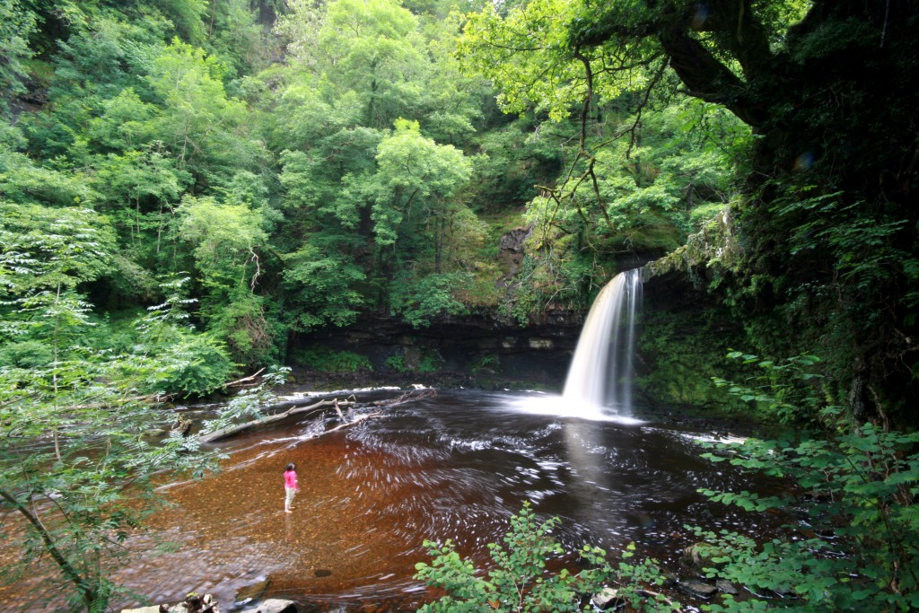 Lady Falls, Brecon Beacons © Daniel Start www.wildswimming.co.uk 07761 375717