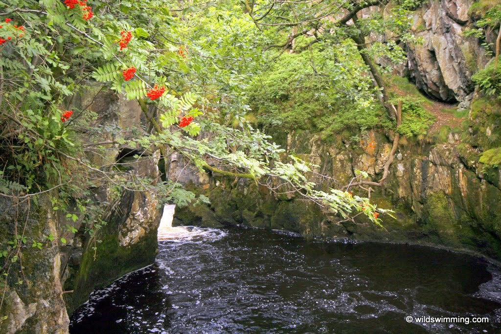 Ingleton Waterfall or Gorge