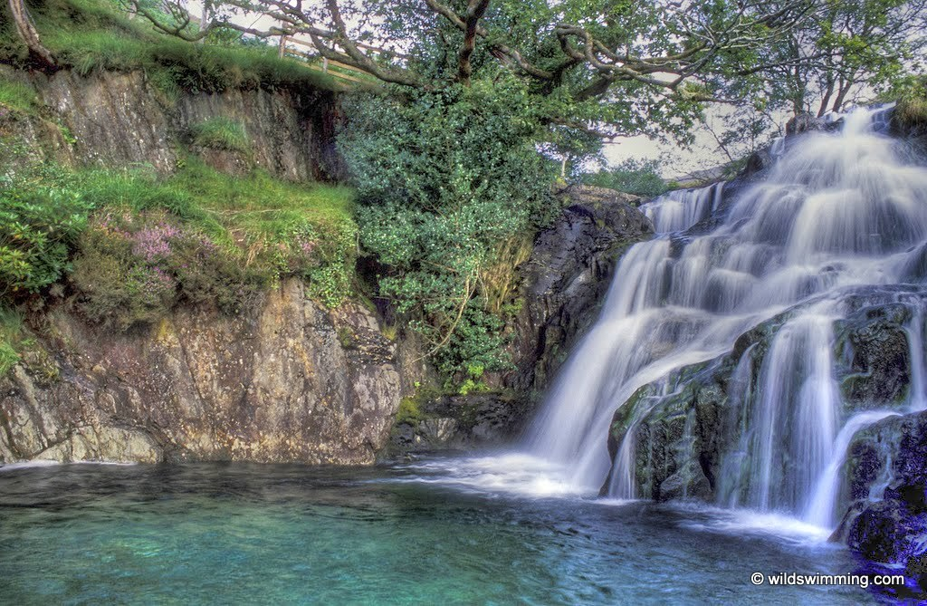 Watkins path waterfall or gorge wild swimming outdoors in rivers