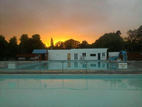 Late night charity swim wild swimming outdoors in rivers lakes and the sea for Late night swimming pools london