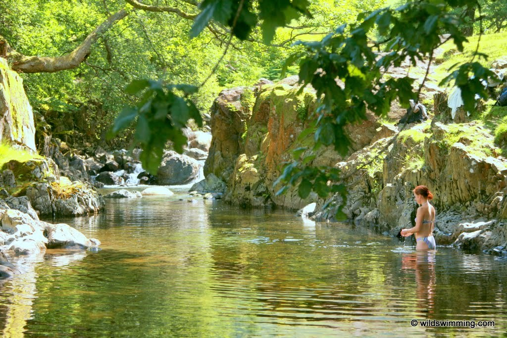 Galleny Force Wild Swimming Outdoors In Rivers Lakes
