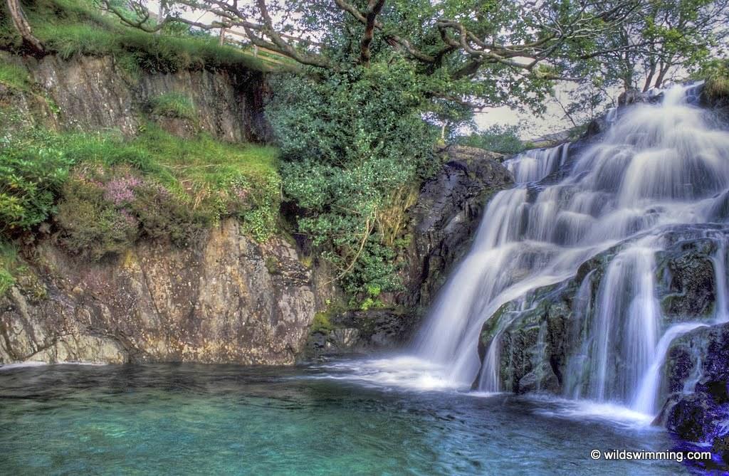 Watkins Path Waterfall Or Gorge Wild Swimming Outdoors